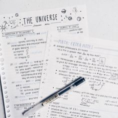 studie-s: i like how these notes turned out i've been really trying my best to study for the entrance exams for next month. School Organization Notes, Study Organization, Pretty Notes, Good Notes, Cute Notes, Class Notes, School Notes, College Notes, School Study Tips