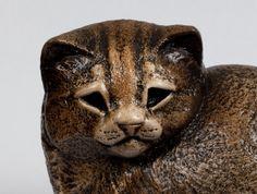 Baby Kitten Stone Sculpture Cat Totem от WindstoneEditions