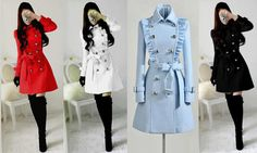Made to order cashmere jacket coat dress Cashmere Jacket, Cute Coats, Mode Outfits, Mode Style, Jacket Dress, Trench Coat Dress, Trench Coats, Korean Fashion, Ideias Fashion