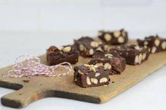 easy hazelnut fudge candy recipe