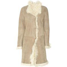 Designer Clothes, Shoes & Bags for Women Shearling Coat, Fur Coat, Marni, Sheep, Women's Fashion, Coats, Brown, Lace, Clothing