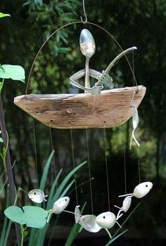 Spoon outdoor decorations!