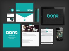 BONS  INTERACTIVE & BRANDING SOLUTIONS | http://www.behance.net/gallery/BONSDESIGN/911737