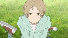 so adorable Natsume Takashi, Hotarubi No Mori, Good Anime Series, Thats All Folks, Natsume Yuujinchou, Boy Character, Anime Screenshots, Anime Boys, Cute Boys