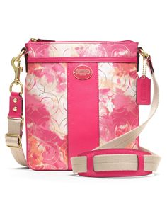 4ec30461cf COACH FLORAL SWINGPACK - COACH - Handbags  amp  Accessories - Macy s Coach  Handbags