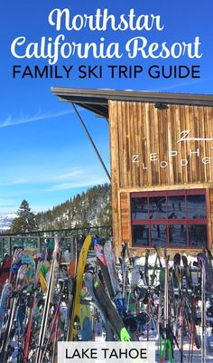 Skiing Northstar California Resort in Lake Tahoe with kids? Get family-friendly advice on ski school, restaurants, lodging, and more from a parent who skis at the resort many times every year!