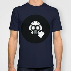 Post World Zuno : Gas Mask 04 T-shirt by Zuno - $22.00 Mens Tops, T Shirt, Shopping, Fashion, Supreme T Shirt, Moda, Tee, Fashion Styles, T Shirts