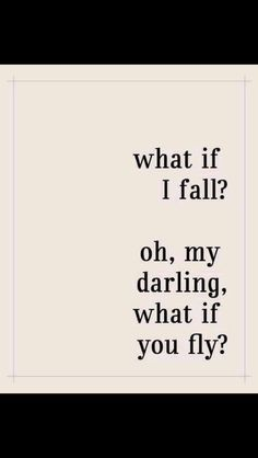 You'll fly.