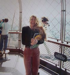 At the top of the Eiffel tower ;D **  3eme étage <3