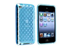 Transparent Diamond Flexible Soft TPU Rubber Protector Cases for iPod touch 4th Gen | Lagoo Tech