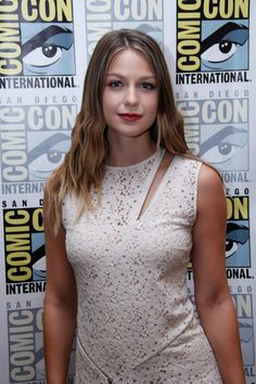 Melissa Benoist at the SDCC day 2 (22 July, 2016)