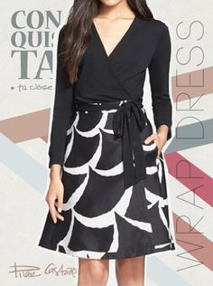 El Wrap dress de DVF