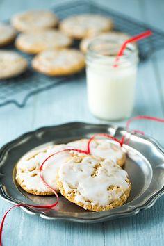 Old Fashioned Iced Oatmeal CookiesReally nice recipes. Every  Blog: Alles rund um die Themen Genuss & Geschmack  Kochen Backen Braten Vorspeisen Hauptgerichte und Desserts #hashtag