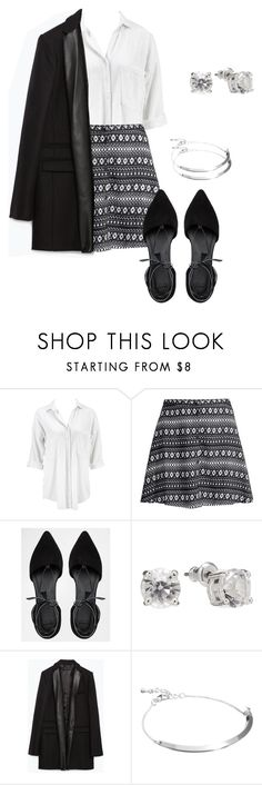 Allison Argent Outfit by zoetozier on Polyvore featuring Ichi, Zara, H&M, ASOS and LC Lauren Conrad