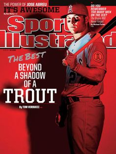 May 12 2017 Cover Of Si With Mike Trout Baseball Bracelet Angels