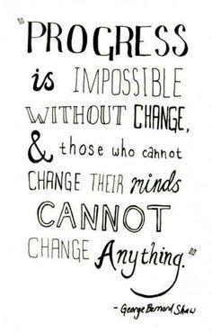 Make up your mind. #change