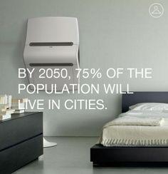 Design for 2050: Clothing Printer by Joshua Harris, via Behance