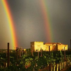 Doble arcoiris Castillo del Buen Amor