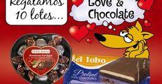 10 Lotes LOVE & CHOCOLATE