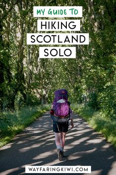 This is my experience hiking the length of Scotland the Scottish National Trail. Dont forget to save this to your travel board so you can find it later! Scotland Hiking, Scotland Travel, Best Places To Travel, Cool Places To Visit, Solo Travel, Travel Uk, Hawaii Travel, Italy Travel, Hiking Tips