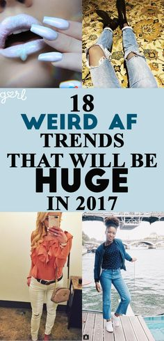 Just like every other year, 2017 will be focusing on some serious throwback trends when it comes to both fashion and beauty. 2016 was all about the '90s, 2015 was obsessed with the '70s – this time, things are getting a little bit more out there. 2017 is a mix of trends from the '80s, early 2000s, and a little bit of the '90s. And honestly? Things are going to get weird AF.