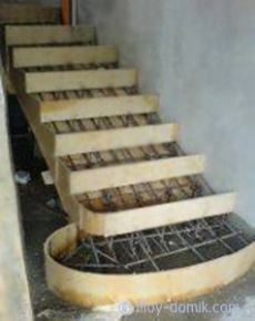 Бетонная лестница своими руками | Строительство и ремонт дома своими руками