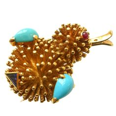 An 18k Gold Scatter Pin by MAUBOUSSIN, c.1950