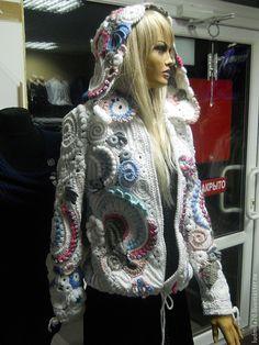 """Верхняя одежда ручной работы. Ярмарка Мастеров - ручная работа Курточка (ветровка)""""7"""". Handmade."""