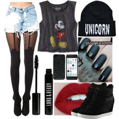 """""""Bad Girl."""" by karoxx on Polyvore"""