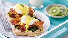 Use Filipino ingredients for a delicious twist on the classic eggs Benedict!