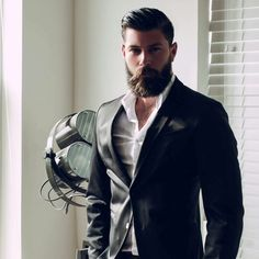 Beard man. Never say never!