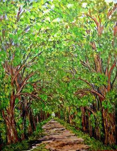 GALERIA PALOMO MARIA LUISA: ENTRADA  VERDE ....RUTA 5 Country Roads, Paths, Country, Entryway, Green, Scenery