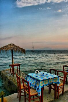 ~~Gatzea ~ Pelion, Volos, Greece by GLart~~so pretty NW Places To Travel, Places To See, Vie Simple, Thessaloniki, Romantic Getaways, Greece Travel, Greek Islands, Athens, Countryside