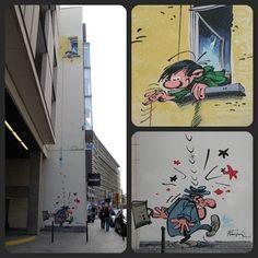 Gaston Lagaffe / Guust Flater. Rue de l'Ecuyer. Brussel