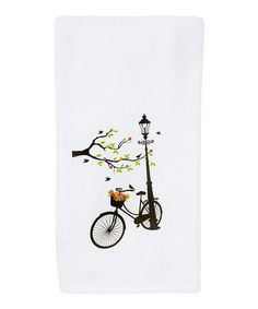 Lamppost & Bicycle Kitchen Towel