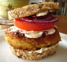 "Chickpea Burger: ""This burger is so delicious. You will not miss the meat, I promise!"" -Chouny"