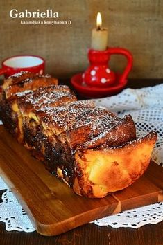 Gabriella kalandjai a konyhában :) Ring Cake, Scones, French Toast, Deserts, Xmas, Bread, Breakfast, Recipes, Food