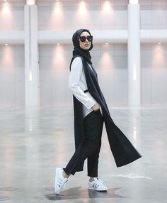 sporty adidas with hijab