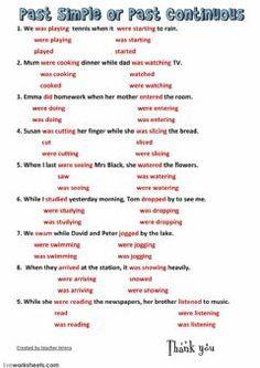 16 Ideas De Pasado Continuo Pasado Continuo Pasado Simple Educacion Ingles