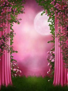 GladsBuy Pink Fog x Computer Printed Photography Backdrop Magic Theme Background Wedding Background Images, Studio Background Images, Dslr Background Images, Photo Background Images, Pink Roses Background, Flower Background Wallpaper, Flower Backgrounds, Photo Backgrounds, Photography Studio Background