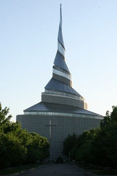 Community of Christ (Mormon offshoot) Church, Independence, Missouri, USA.