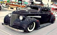 Chopped 1939 Chevy coupe