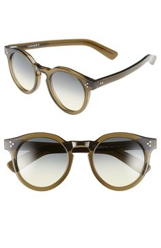 3f720458f8 Free shipping and returns on Illesteva  Leonard II  50mm Round Sunglasses  at Nordstrom.