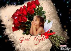 """Vyhledávání """"good night"""" o PicMix Night Gif, Online Image Editor, Animation, Good Morning Good Night, Baby Love, Christmas Bulbs, Projects To Try, Holiday Decor, Sweet Dreams"""
