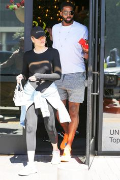 Khloe Kardashian pregnant and engaged to Tristan Thompson: Rumor Khloe And Tristan, Khloe Kardashian And Tristan, Kardashian Family, Kardashian Jenner, I Love My Niece, Niece And Nephew, Lord Disick, Tristan Thompson, Cool Summer Outfits