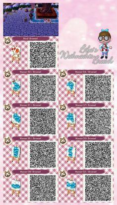 Animal Crossing Qr Codes Floor Outside