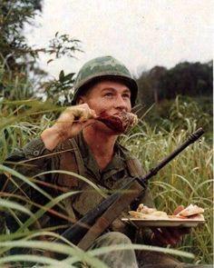 Thanksgiving in 'Nam. #nam #vietnamwar