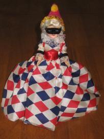 2 Blue Bonnet Margarine Vintage Plastic Dolls