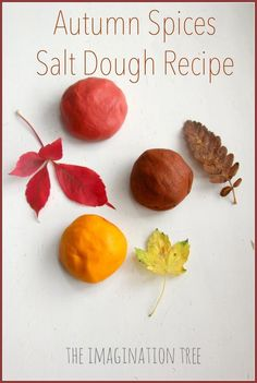 Autumn spices salt dough recipe for model making! This dough smells wonderful and models can be baked to last a very long time.