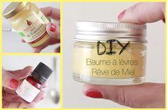 DIY Baume à lèvres rêve de miel par Mamzelle Emie